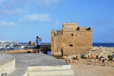 Cyprus, Pafos, Harbour